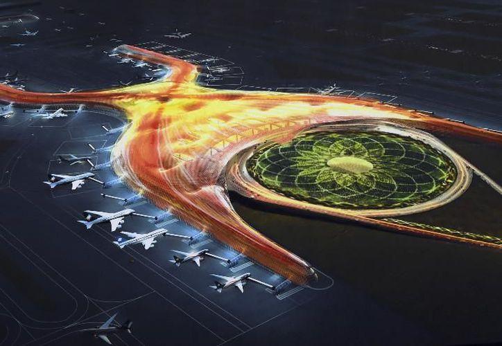 El cambio de construcción del aeropuerto los afecta, por lo que demandan una indemnización. (Imagen)