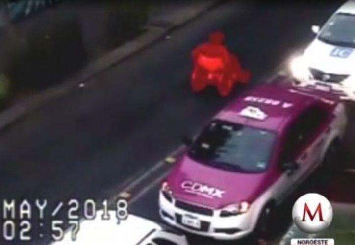 La Secretaría de Seguridad Pública de la Ciudad de México informó que vinculó a proceso al ladrón que robó en silla de ruedas una tienda. (Captura de pantalla/Milenio)