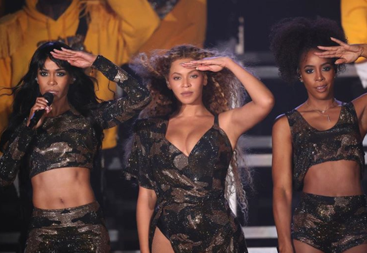 Beyoncé interpretó éxitos junto a sus ex compañeras de Destiny Child, en Coachella. (Foto: Instagram)