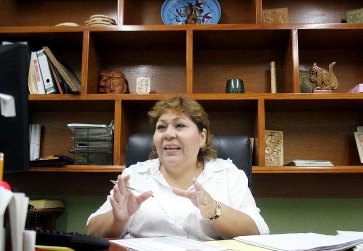 Elizabeth Gamboa Solís, directora del Indemaya, comentó que se han tramitado cuatro visas humanitarias. (Milenio Novedades)
