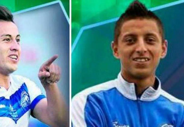 El mexicano Roberto Alvarado, de 18 años, y el delantero chileno Sergio Vergara, son los dos nuevos refuerzos del Pachuca. (Foto: cortesía Club Pachuca)