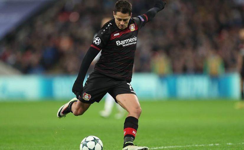 """El equipo dejó ir al """"Chicharito"""" a la Copa Confederaciones 2017 para que pudiera elevar su costo. (Facebook: Bayer Leverkusen)"""