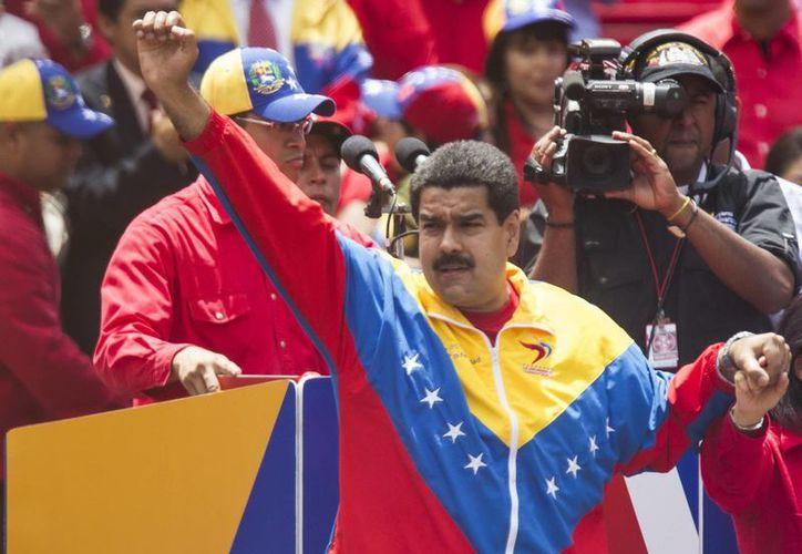 Las declaraciones de Maduro se hicieron en el marco de una reunión con miembros del Gobierno para abordar el tema de la inseguridad en el país. (EFE)
