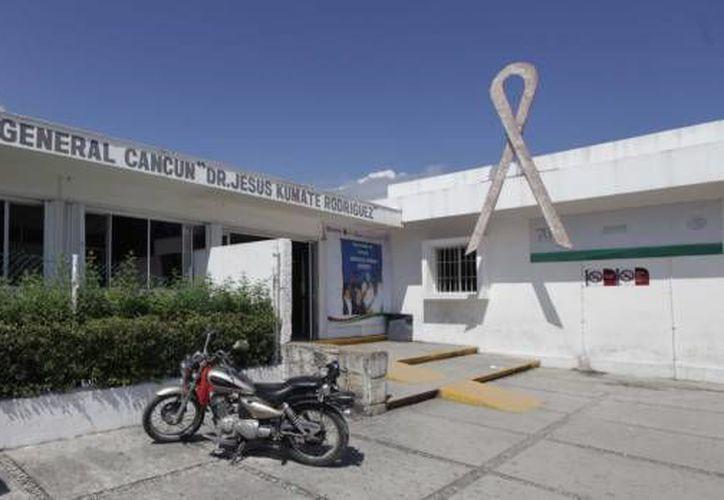El afectado fue trasladado al Hospital General para que sea atendido. (Archivo/SIPSE)