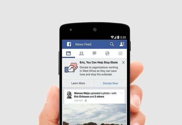 Algunos acusaron la iniciativa de Facebook contra el ébola como un truco de mercadotecnia. (mashable.com)