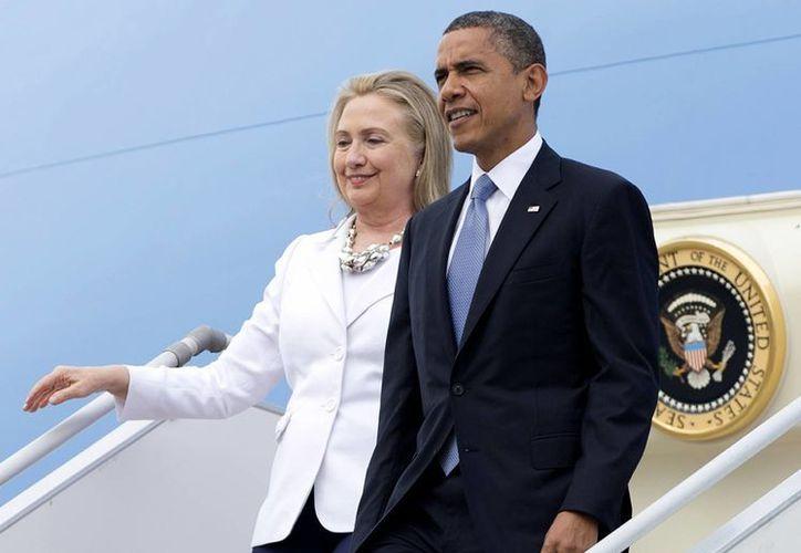 La historia de cómo los rivales pasaron a ser amigos estará en el centro de la presentación de Obama-Clinton en Charlotte, North Carolina. (Agencias)