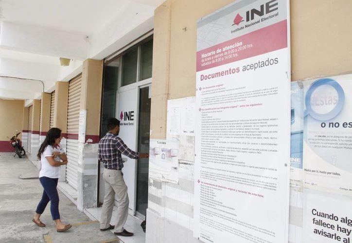 Las boletas se repartirán en los distritos electorales. (Tomás Álvarez/SIPSE)