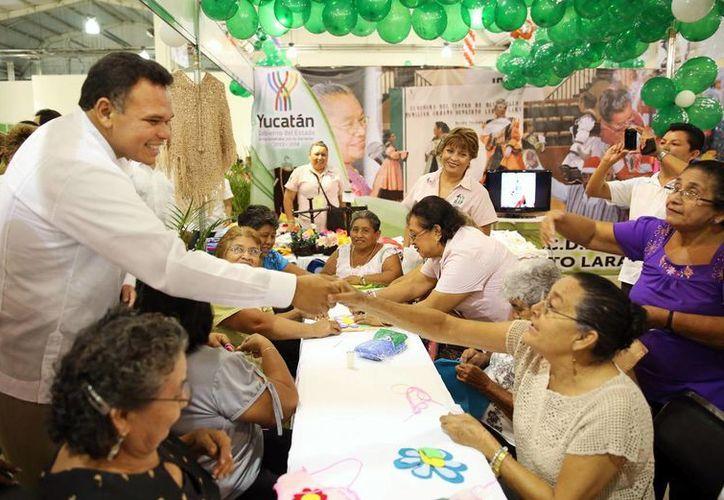 El gobernador Rolando Zapata estará este jueves en Timucuy y cerca de Umán. (SIPSE)