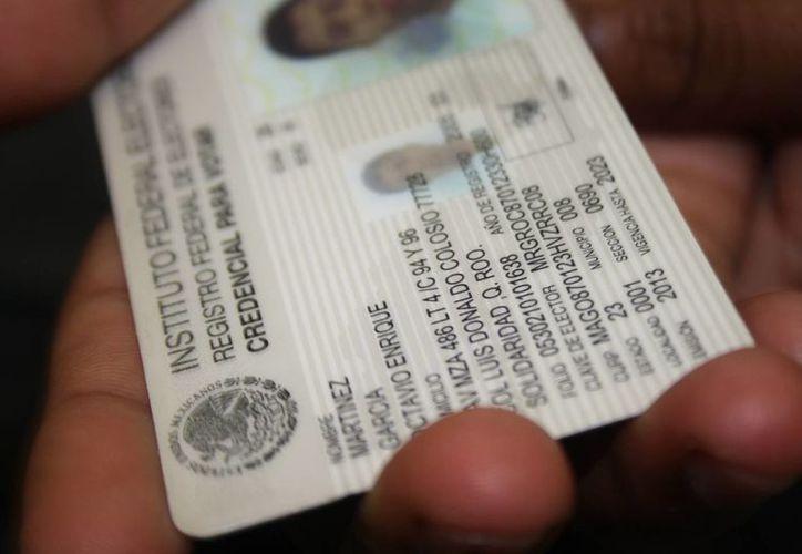 Este 31 de diciembre siete mil credenciales de elector perderán vigencia. (Octavio Martínez/SIPSE)