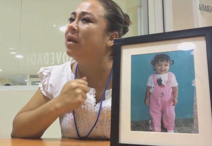Alejandra, madre de la menor que murió en una guardería dio una entrevista exclusiva para Novedades Q. Roo. (Luis Soto/SIPSE)