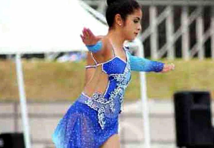 La yucateca Claudia Nuñez Solís (foto) quedó lejos de la italiana ganadora de la medalla de oro, Silvia Lambruschi. (Milenio Novedades)