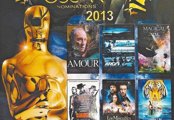 En la carrera por el Oscar, la piratería lleva la ventaja. (Especial/Agencias)