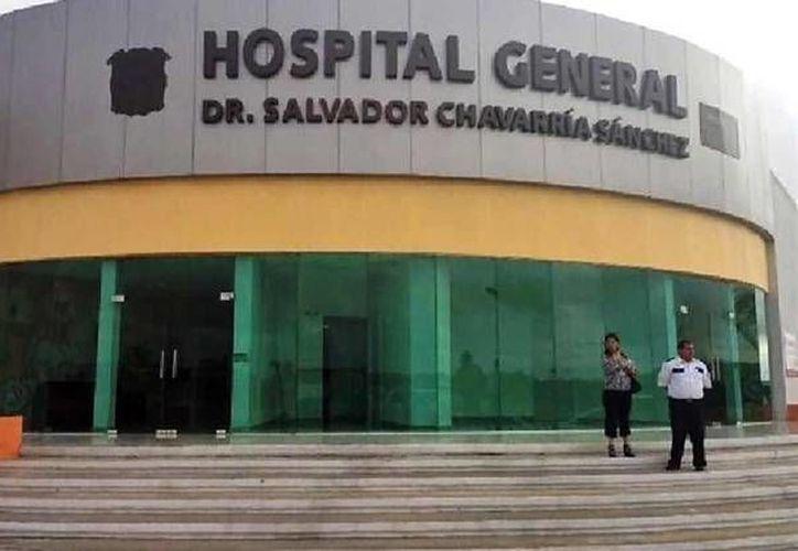El hospital del sector Salud de Piedras Negras, Coahuila, donde fue atendida la menor.(Especial/elmanana.com)