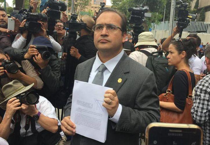 Javier Duarte de Ochoa, gobernador de Veracruz, acusó al panista de poseer 26 inmuebles en zonas de lujo, tanto en la Ciudad de México como en el estado de Veracruz. (René Cruz/NoticiasMVS)