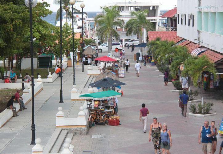 Dentro del parque hay, hasta el momento, alrededor de 25 vendedores ambulantes, y en la ciudad se distribuyen casi 700. (Gustavo Villegas/SIPSE)