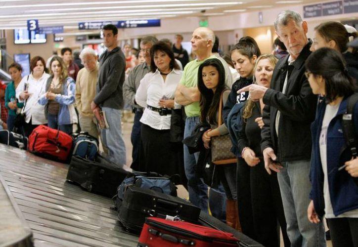 Una ciudadana mexicana reconoció en video que su maleta había sido cambiada. (Imagen de referencia/http://nomadistas.com)