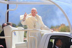 Visita del Papa Francisco a San Cristóbal