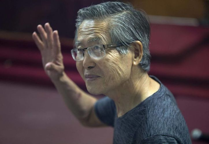 Fujimori aseguró que en los próximos tres días apelará la sentencia de ocho años que le fue impuesta este jueves. (AP)