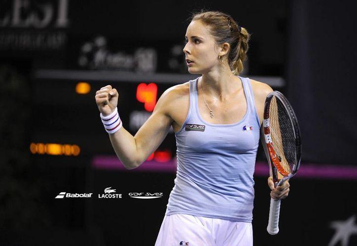 Alize Cornet derrotó a Serena Williams en Dubai en febrero y también la venció en la tercera ronda en Wimbledon, y también este 23 de septiembre. (alizecornet.fr/Foto de archivo)