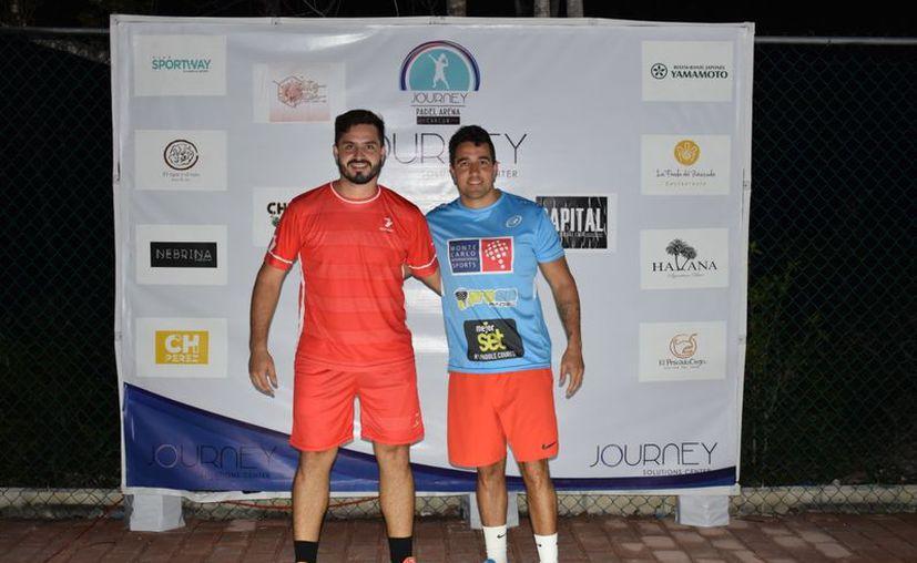 Juan Martín Cesca y Diego Martínez también lograron un triunfo. (Raúl Caballero/SIPSE)