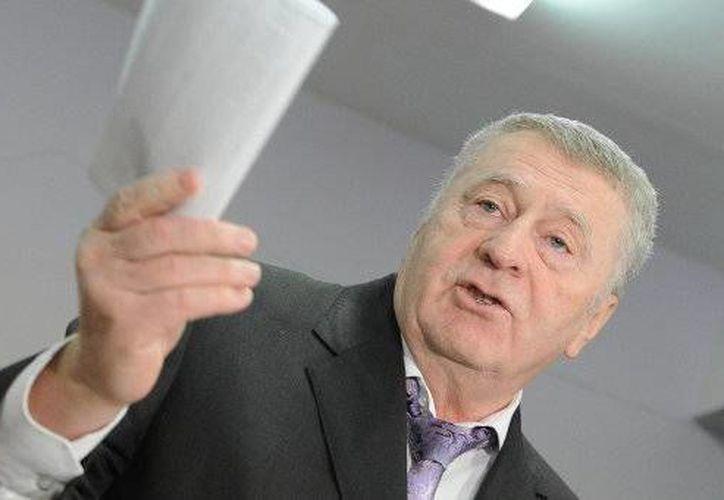 El líder del Partido Liberal-Demócrata de Rusia, Vladímir Zhirinovski. (sp.ria.ru)