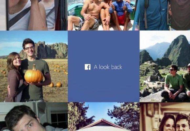 Cientos de miles de usuarios han creado su propia película en Facebook. (Captura de pantalla)