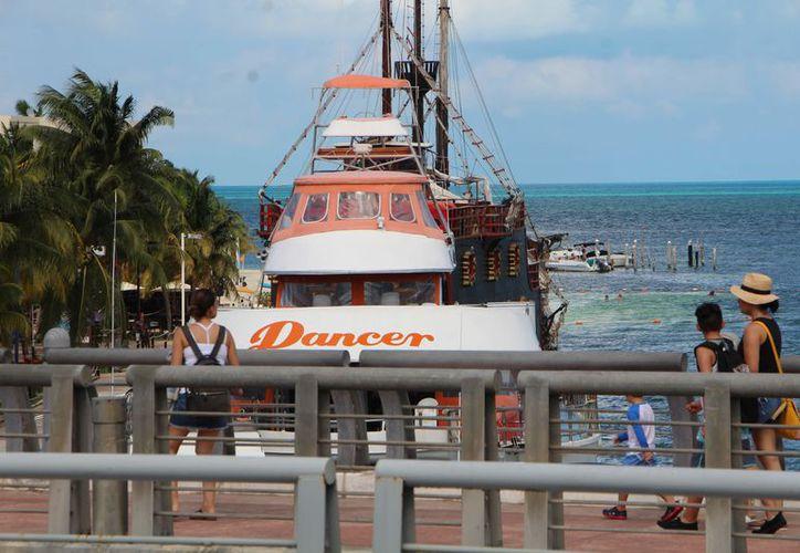 El circuito que proyecta el sector náutico de Quintana Roo sería entre Cuba, Veracruz y Cancún. (Stephani Blanco)