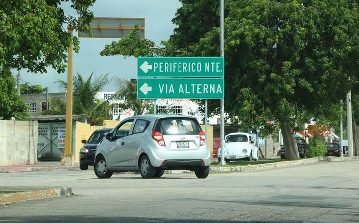 Debido al crecimiento del parque vehicular se han creado más vialidades en Mérida para ofrecer opciones de tránsito, como es el caso del Periférico Norte. (Milenio Novedades)