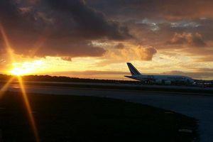 Aterriza en Cancún el avión más grande del mundo