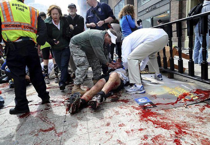 El joven chechenio y su hermano Tamerlan hicieron estallar una bomba en el Maratón en Boston el pasado 15 de abril. (Agencias)