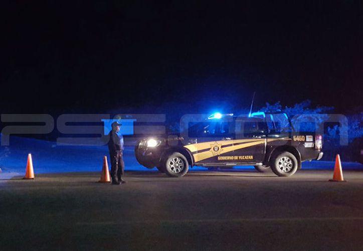 Dos muertos dejó un accidente carretero entre Chicxulub Puerto y Pueblo. (Gerardo Keb/SIPSE)