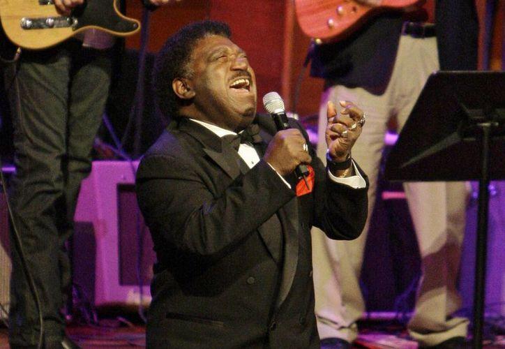 Percy Sledge en foto de archivo de octubre de 2008. El cantante de 'When a man loves a woman' falleció este martes a los 74 años. (Foto: AP)