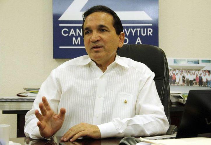 Manuel López Campos augura un fortalecimiento de la economía. (Juan Albornoz/SIPSE)