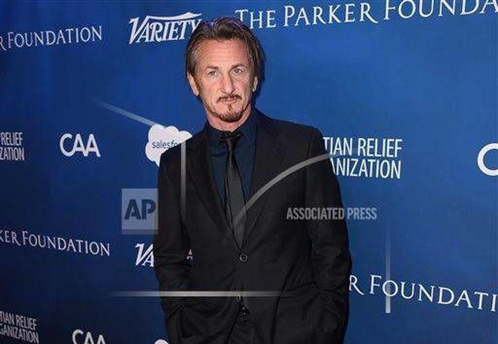 El actor Sean Penn confesó haber tenido varios encuentros con Joaquín Guzmán Loera, después de la fuga del capo del penal del Altiplano, en julio de 2015. (AP)