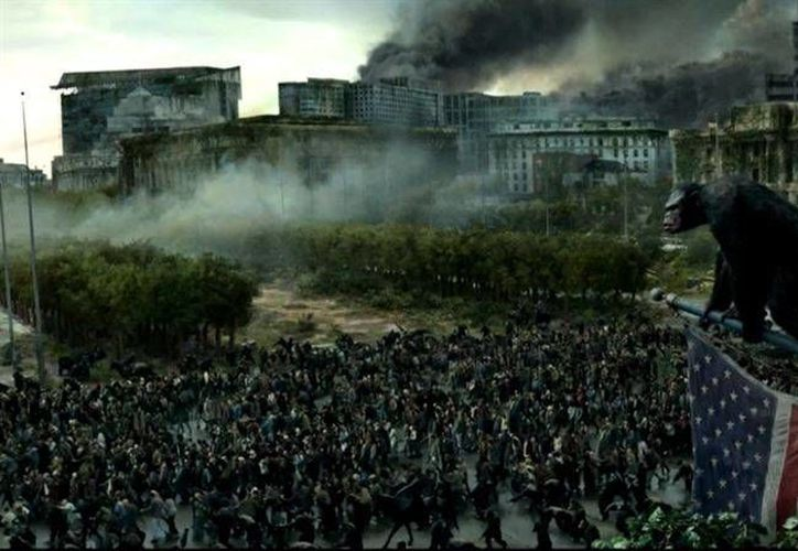 El planeta de los simios: Confrontación se estrenará en México el 24 de julio. (FOX)