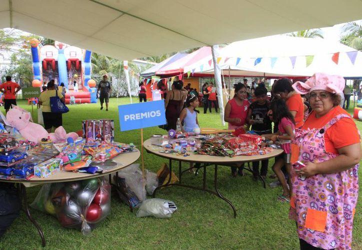 La Gran Kermesse, es el primero de muchos festejos en torno al aniversario número 15 de la fundación. (Tomás Álvarez/SIPSE)
