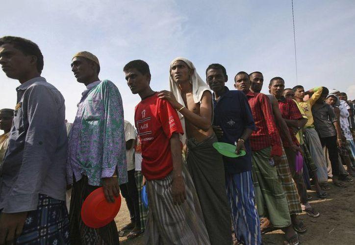 Malasia ha aceptado a decenas de miles de rohingya en su territorio, pero asegura que ya no puede recibir más. (AP)