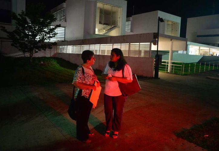 La señora Ligia Canto recibió el apoyo de la sociedad yucateca en la lucha por recuperar a sus nietos. (Luis Pérez/SIPSE)