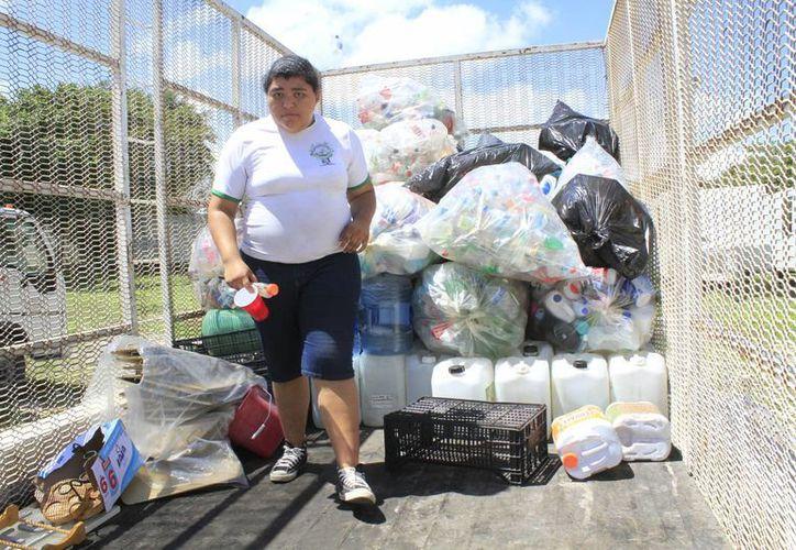 En lo que va del año se han percibido alrededor de 200 toneladas de residuos. (Sergio Orozco/SIPSE)