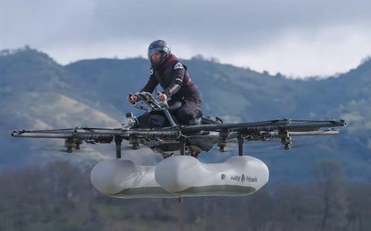 Este vehículo volador se une a otras iniciativas de una docena de empresas. (Kitty Hawk)