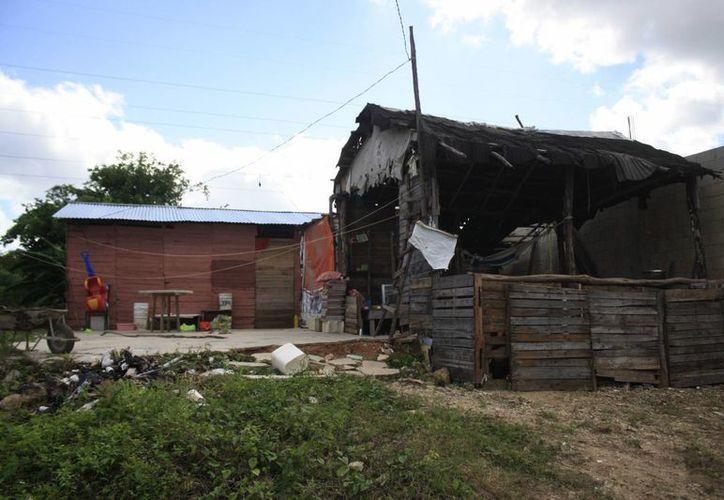 El municipio de Benito Juárez registró 32 zonas de pobreza urbana. (Harold Alcocer/SIPSE)