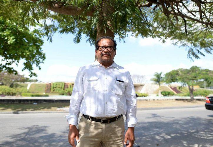 Desde 1992, Huchim Herrera,  ha estado a cargo del proyecto de investigación y restauración de Uxmal y otros sitios de la Región Puuc. (Luis Pérez/SIPSE)