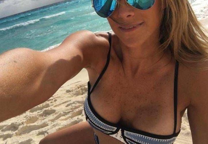 La actriz compartió sus fotografías de su paso por Cancún en sus redes sociales. (Cotesía/Instagram)