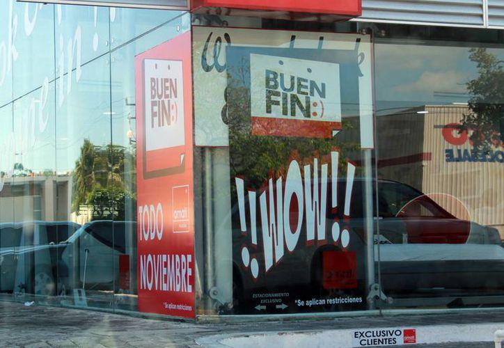 Más de 500 negocios se registraron para el Buen Fin. (Luis Soto/SIPSE)