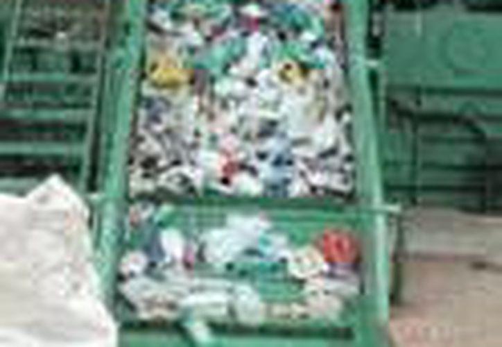 La planta recicladora Tecno Transformaciones facilitará la exportación de residuos sólidos. (Sergio Orozco/SIPSE)