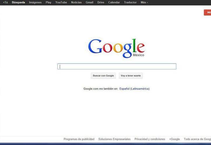 """Por un problema legal de divorcio, en el buscador Google aparecen sus datos con la leyenda: """"Con procesos con la justicia"""". (Captura de pantalla)"""