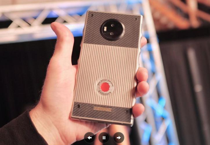 El smartphone será holográfico porque podrá grabar video holográfico en 4V. (Unocero)