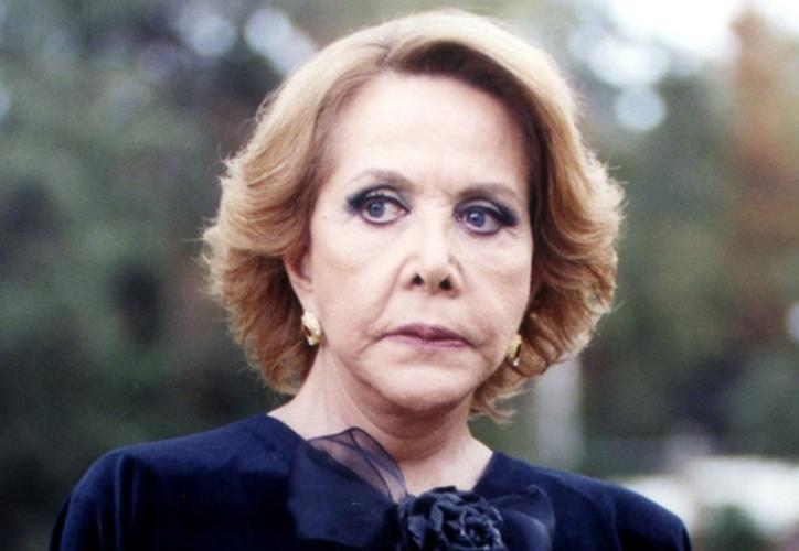 El día de hoy murió la actriz mexicana María Rubio. (Televisa)
