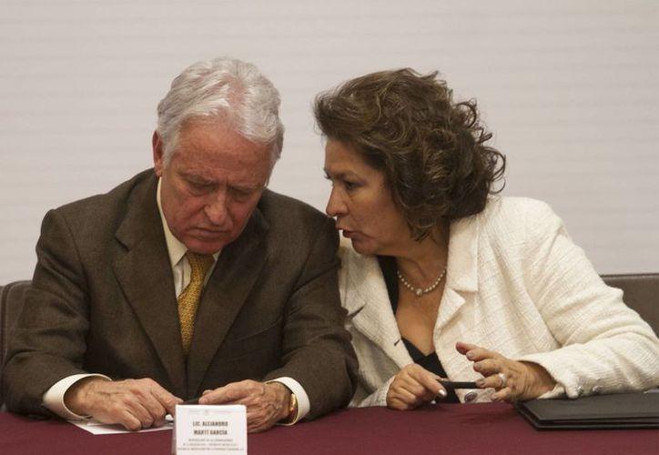 Isabel Miranda de Wallace, dirigente de Alto al Secuestro, asegura que no está de acuerdo en discutir nuevamente el tema de la geolocalización. (Archivo/Notimex)