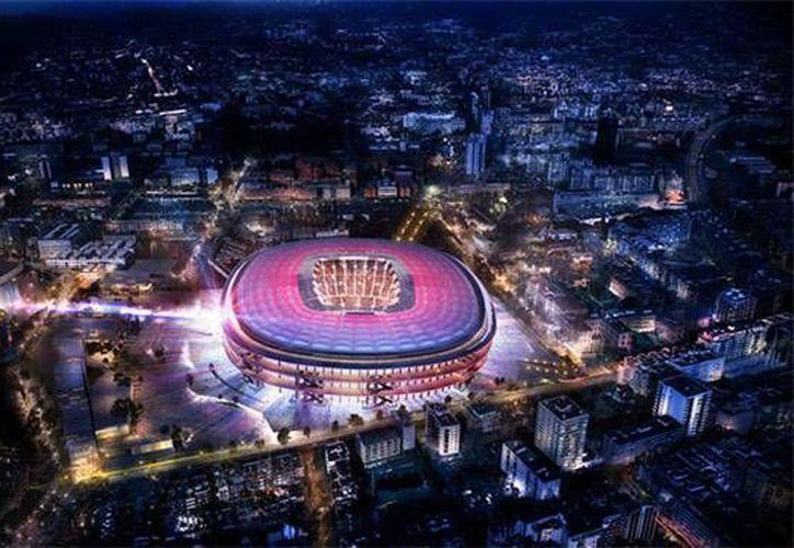 La construcción del nuevo Camp Nou tendrá una duración de cuatro años. (Foto tomada de www.fcbarcelona.es)
